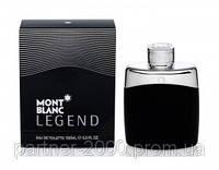 """Туалетная вода Mont Blanc """"Legend"""" 100ml (Мужская туалетная вода)"""