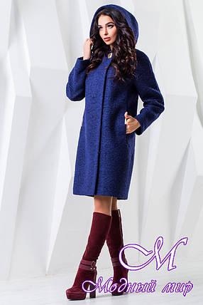 Осіннє пальто жіноче великого розміру (р. 44-62) арт. 981 Тон 34, фото 2