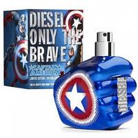 Мужская парфюмерия Diesel Only The Brave Captain America