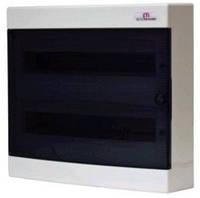 Щит наружный распределительный ECT 2x18PT  (36 модулей прозрачная дверь), 1101081
