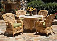 Плетеная мебель – изюминка вашего дома