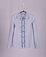 BoGi.Блузка з вишивкою для дівчинки довгий рукав. 101.042.0255.01