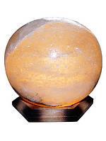 Бахмут Соляной светильник Шар 6-7 кг обычная лампа