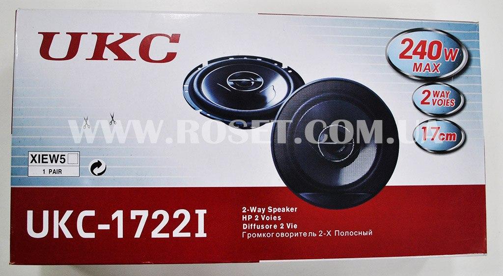 Автомобільна акустика - UKC-1722I 17 см 240W 2 динаміка