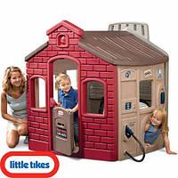 Детский игровой домик Супергородок Little Tikes - США -  школа, пожарная станция, заправка, магазин