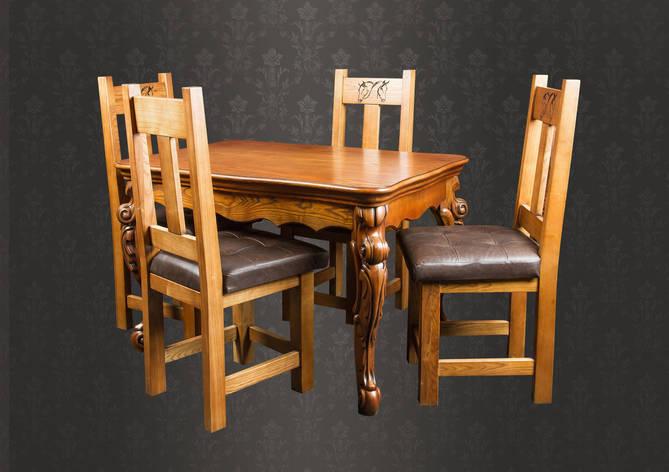 Кухонный стол из массива дерева, фото 2