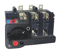 Разъединители нагрузки  LAF под предохранители (LAF/R - рукоятка на корпусе, LAF/D - выносная рукоятка), ETI, Выносная, 630