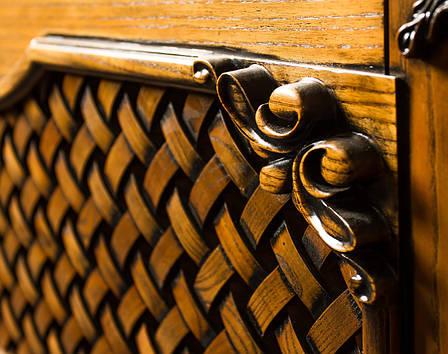 Деревянный подоконник с радиаторной решеткой, фото 2