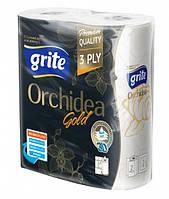 Бумажные полотенца Grite Orchidea Gold  2 рул.