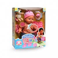 Кукла младенец Саша говорит с реалистичной мимикой 12 фраз, выглядит как настоящий малыш, фото 1