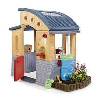 Детский игровой домик экологический Go Green Little Tikes - США - клумба, почтовый ящик, сортировка мусора