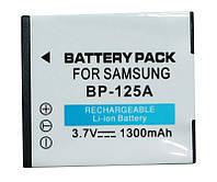 Аккумулятор для Samsung IA-BP125A, Li-ion, 1300 mAh