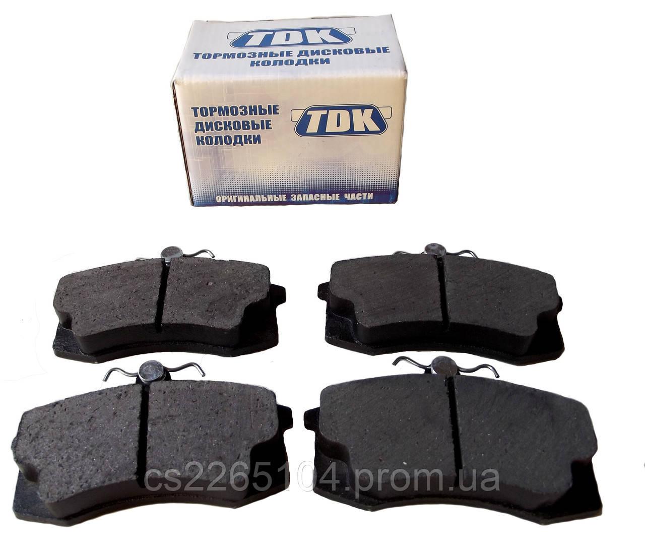 Колодки тормозные передние ВАЗ 2108 TDK