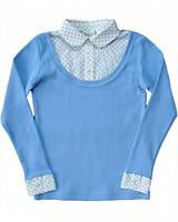 BoGi.Блуза трикотажна  для дівчинки довгий рукав. 801.003.0164.01