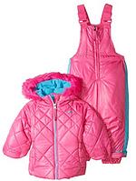 Зимний раздельный розовый комбинезон Pacific Trail(США) для девочки 18мес
