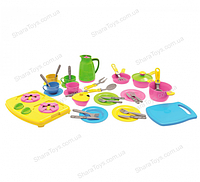 Игрушечный кухонный набор из 38 предметов
