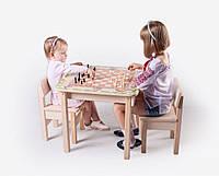 Школьный письменный стол SP1. C4 3в1 (игровой столик, мольберт, парта) с фотопечатью для детей от 2 лет ТМ Вальтер