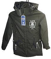 Куртка для мальчика BMZ-642 с капюшоном на змейке с наушниками юниор (деми)