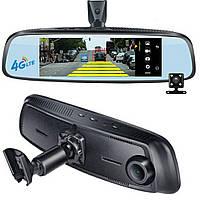 Зеркало регистратор Phisung E09, 7, 84', ADAS, Car Assist, 4 G, навигатор, камера заднего вида