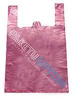 Пакеты Майка размер 30х50 розовая