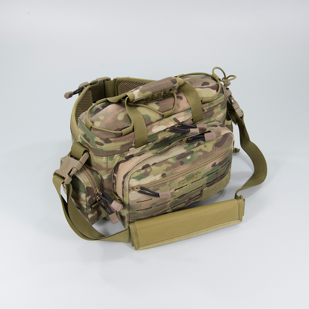 Сумка тактическая Direct Action® Foxtrot® Waist Bag - Мультикам