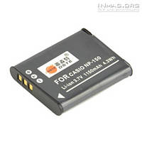 Aккумулятор Casio NP-150, 1150mAh