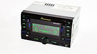 Автомагнитола пионер Pioneer 9901 2din USB SD AUX пульт RGB подсветка, фото 2