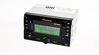 Автомагнитола пионер Pioneer 9901 2din USB SD AUX пульт RGB подсветка, фото 3