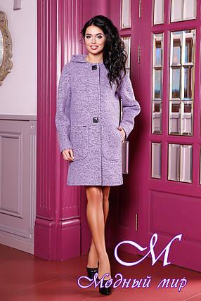 Женское осеннее пальто большие размеры (р. 44-62) арт. 1049 Тон 21, фото 2