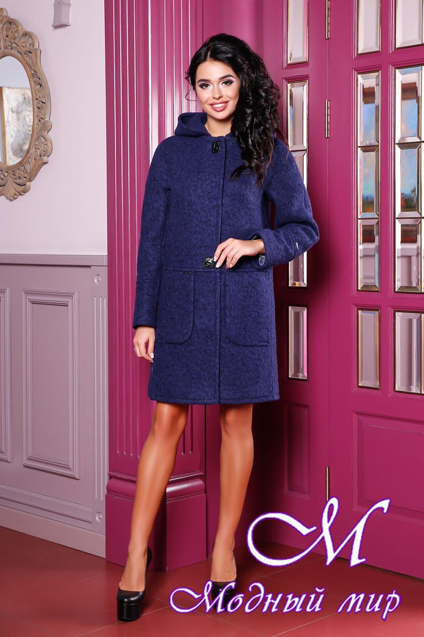 Женское демисезонное пальто большие размеры (р. 44-62) арт. 1049 Тон 34