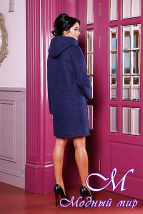 Женское демисезонное пальто большие размеры (р. 44-62) арт. 1049 Тон 34, фото 2