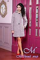 Демисезонное женское пальто большие размеры (р. 44-62) арт. 1049 Тон 48
