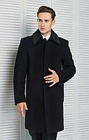 Классическое зимнее мужское пальто