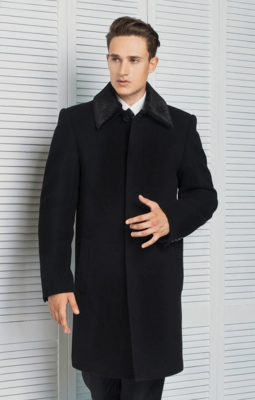 Классическое зимнее мужское пальто - Интернет магазин