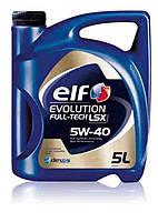 Моторное масло ELF 5W40 EVOLUTION FULLTECH LSX 5L
