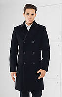 Двубортные  зимнее мужское пальто