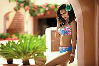 Красивый купальник в цветы FRIDA F04 414