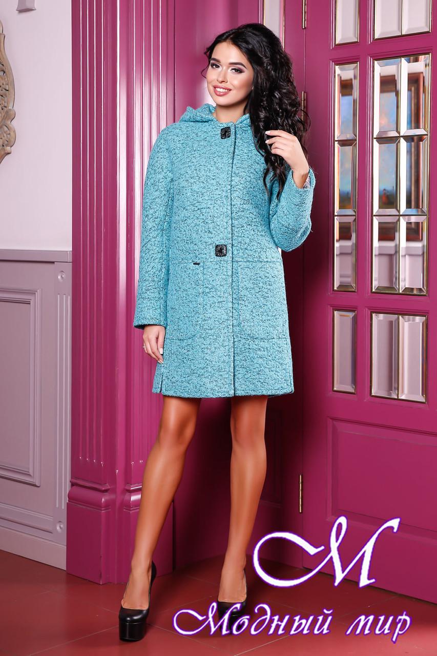 Осіннє пальто жіноче великого розміру (р. 44-62) арт. 1049 10 Тон