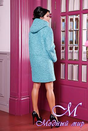 Осіннє пальто жіноче великого розміру (р. 44-62) арт. 1049 10 Тон, фото 2