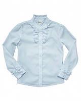 BoGi. Блуза для дівчинки біла довгий рукав.101.025.0124.01