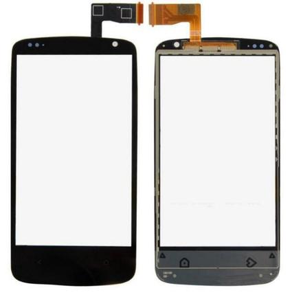 Сенсор (тачскрин) для HTC 500/506e Desire черный, фото 2