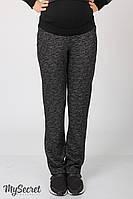 Теплые и очень удобные спортивные брюки для беременных из плотного трикотажа трехниткас начесом