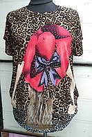 Туники и блузы женские большие размеры 48-56