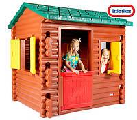 Детский игровой домик Избушка Little Tikes - США - откидной столик, игрушечный телефон и камин