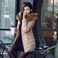 Женская зимняя куртка с мехом. Модель 6379., фото 2
