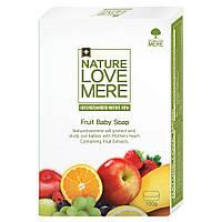 Детское мыло  NatureLoveMere с экстрактом фруктов, 100гр.