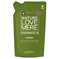 Жидкое детское мыло для рук с антибактериальным эффектом NatureLoveMere, 250мл. (сменный блок)