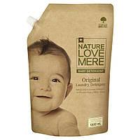 Органический гель для стирки детской одежды NatureLoveMere, 1300мл. (мягкая упаковка)