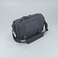 Сумка тактическая Direct Action® Small Messenger Bag® - Темно-серая, фото 1