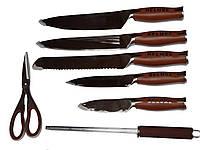 Кухонные ножи +точилка EDENBERG EB-606